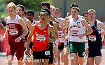 04/16/10, Walnut Ca; College athletes compete at the 52nd running of the Mount Sac Relays.