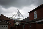 Terraced houses in a street behind the stadium pictured before Preston North End take on Reading in an EFL Championship match at Deepdale. The home team won the match 1-0, Jordan Hughill scoring the only goal after 22nd minutes, watched by a crowd of 11,174.