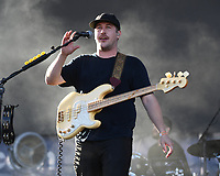 FORT LAUDERDALE BEACH, FL - DECEMBER 02: Zachary Scott Carothers of Portugal The Man performs during The Riptide Music Festival on December 2, 2017 in Fort Lauderdale Beach Florida. Credit: mpi04/MediaPunch