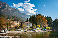 Italy, Lombardia, Lierna: resort on the East Banks of Lake Como between Varenna and Mandello del Lario | Italien, Lombardei, Lierna: Urlaubsort an der Ostkueste des Comer Sees zwischen Varenna und Mandello del Lario
