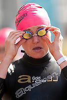 02 AUG 2009 - LONDON, GBR - Jodie Swallow - London Triathlon (PHOTO (C) NIGEL FARROW)