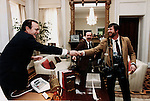 Photojournalist Ron Bennett and President George H.W. Bush, in background is AP Photographer Berry Thuma, Photo by David Valdez White House, Photojournalist Ron Bennett, RTB, Ron Bennett Photojournalist, Ron Bennett Photographer, Ron Bennett Photography, Ronald T. Bennett Photography, Ronald T. Bennett,   Photojournalism, Photojournalist, collecting editing,  News, sports, features, Hollywood, White House, Political,  presenting news photographs, Photojournalism provides visual support for stories, mainly in the print media,  Commercial photography's main focus is to sell a product or service, Fine Art photography are photographs that are created to fulfill the creative vision of the photographer, record of events, published, accurate, fair representation of events, facts, relatable, relate both content and tone, photojournalist is a reporter, http://pa.photoshelter.com/c/ronbennett
