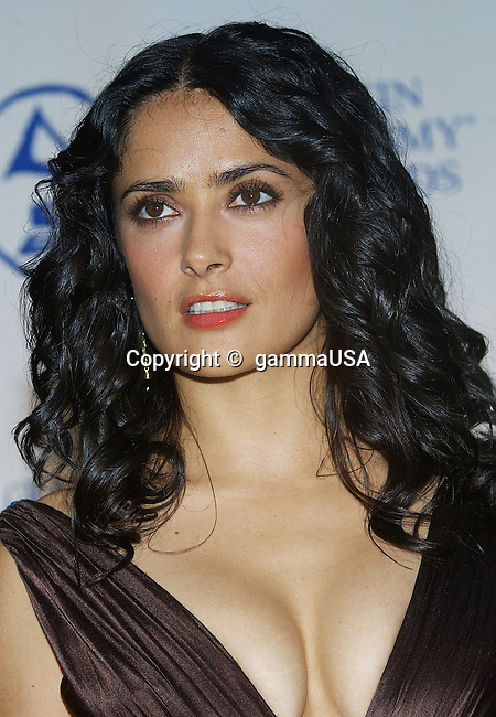 Salma Hayek arriving at the Grammy's Person of the Year Tribute to Carlos Santana at the Century Plaza in Los Angeles. August 30, 2004.