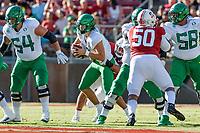 Stanford, CA - September 21, 2019:  Stanford Football falls to Oregon 21-6 at Stanford Stadium.