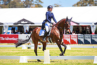 AUS-Sophie Adams rides Umunga during the CCI2* Dressage at the 2016 AUS-Australian International 3DE. Thursday 3 November. Photo Copyright: Libby Law Photography