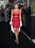 Olivia Buckland at the Bloomsbury Street Kitchen Restaurant Launch Party in London on August 8th 2019<br /> CAP/ROS<br /> ©ROS/Capital Pictures