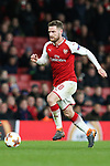 Shkodran Mustafi of Arsenal during the UEFA Europa League Quarter-Final 1st leg match at the Emirates Stadium, London. Picture date 5th April 2018. Picture credit should read: Charlie Forgham-Bailey/Sportimage