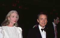 Dick Cavett &amp; Wife Carrie Nye 1986 by<br />