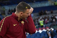 Edin Dzeko of AS Roma <br /> Roma 25-9-2019 Stadio Olimpico <br /> Football Serie A 2019/2020 <br /> AS Roma - Atalanta Bergamasca Calcio <br /> Foto Andrea Staccioli / Insidefoto