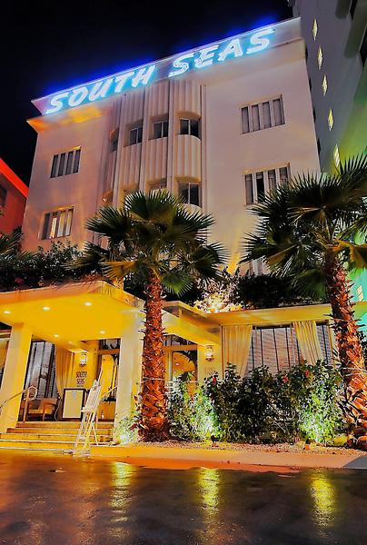 South Seas Hotel, Miami Beach Florida,