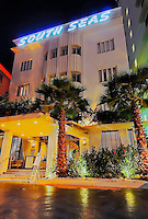 South Seas Hotel, Miami Beach Florida,