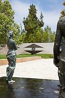 Main Plaza at Cerritos Sculpture Gardens