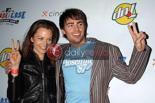 Rachel Boston and Jonathan Bennett