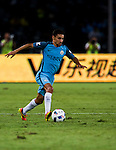 Manchester City midfielder Jesus Navas during the 2016 International Champions Cup China match at the Shenzhen Stadium on 28 July 2016 in Shenzhen, China. Photo by Marcio Machado / Power Sport Images