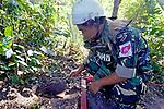 Akira Removing Land Mine