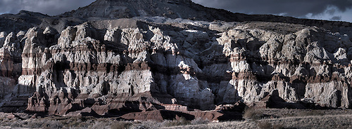 Layers of colorful rock make up the landscape at Grand Staircase Escalante National Monument, Utah