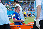 Marco Verratti (ITA), JUNE 24, 2014 - Football / Soccer : Marco Verratti of Italy is stretchered off after being injured during the FIFA World Cup Brazil 2014 Group D match between Italy 0-1 Uruguay at Estadio das Dunas in Natal, Brazil. (Photo by Maurizio Borsari/AFLO)