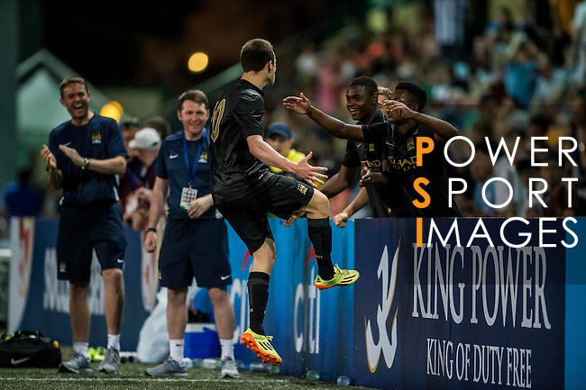 Kitchee vs Manchester City during the Day 3 of the HKFC Citibank Soccer Sevens 2014 on May 25, 2014 at the Hong Kong Football Club in Hong Kong, China. Photo by Victor Fraile / Power Sport Images