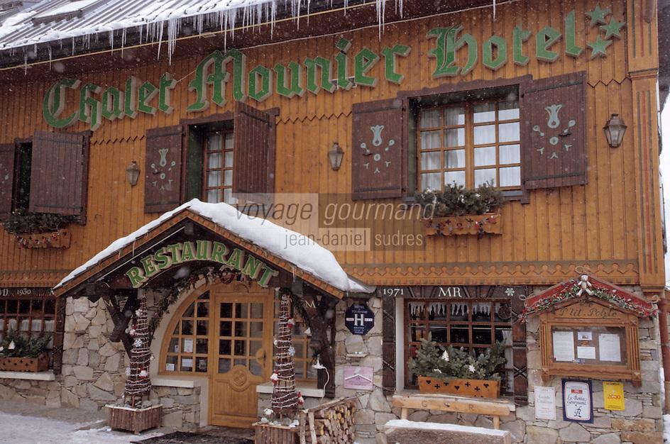 Europe/France/Rhône-Alpes/38/Isère/Les Deux-Alpes: Hotel Restaurant Le Chalet Mounier