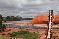 Bacia de rejeitos da bauxita na refinaria da Norsk Hydro.<br />Barcarena, Pará, Brasil.<br />Foto Maycon Nunes