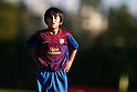 Takefusa Kubo (Barcelona Alevines C), OCTOBER 22, 2011 - Football / Soccer : FC Barcelona Alevines C match at La Ciutat Esportiva Joan Gamper in Sant Joan Despi, Barcelona, Spain. (Photo by D.Nakashima/AFLO) [2336]