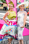 Clodagh Irwin Owens and Emir O'Shea, Killorglin  pictured at Ladies day at Galway Races on Thursday.