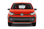 Car photography straight front view of a 2018 Volkswagen Up Cross Up 5 Door Hatchback