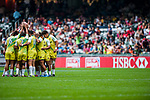 Japan vs Cook Islands during the Cathay Pacific / HSBC Hong Kong Sevens at the Hong Kong Stadium on 29 March 2014 in Hong Kong, China. Photo by Andy Jones / Power Sport Images