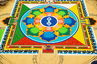 Tibetan Sand Mandala in Bozeman, MT (Friday)
