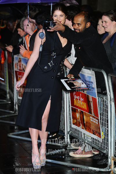 "Gemma Arterton at the premiere of ""Songs for Marion"" being shown as part of the London Film Festival 2012, Odeon West End, London. 19/10/2012 Picture by: Steve Vas / Featureflash"