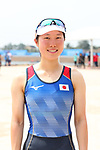 Miharu Takashima (JPN), <br /> AUGUST 20, 2018 - Rowing : <br /> Women's Lightweight Double Sculls  Final <br /> at Jakabaring Sport Center Lake <br /> during the 2018 Jakarta Palembang Asian Games <br /> in Palembang, Indonesia. <br /> (Photo by Yohei Osada/AFLO SPORT)
