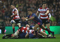 Stade Francais Paris Will Genia <br /> <br /> Photographer Rachel Holborn/CameraSport<br /> <br /> European Rugby Challenge Cup Final - Gloucester Rugby v Stade Francais Paris - Friday 12th May 2017 - BT Murrayfield, Edinburgh<br /> <br /> World Copyright &copy; 2017 CameraSport. All rights reserved. 43 Linden Ave. Countesthorpe. Leicester. England. LE8 5PG - Tel: +44 (0) 116 277 4147 - admin@camerasport.com - www.camerasport.com
