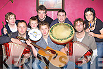 Preparing for the 2008 Neilus O'Connor traditional festival in Knocknagoshel this weekend from 21st-23rd November l-r: Donal O'Connor, Conor O'Sullivan, Niall O'Connor. Back row: Regina,Gavin, Cormac O'Connor, Mike Enright and Ruth O'Connor Knocknagoshel     Copyright Kerry's Eye 2008