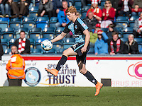 Ryan Sellers of Wycombe Wanderers during the Sky Bet League 2 match between Wycombe Wanderers and Accrington Stanley at Adams Park, High Wycombe, England on the 30th April 2016. Photo by Liam McAvoy / PRiME Media Images.