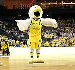 05.06.2019, Mercedes Benz Arena, Berlin, GER, ALBA BERLIN vs.  Oldenburg, <br /> im Bild ALBA-Maskottchen<br /> <br />    <br /> Foto © nordphoto /  Engler