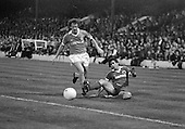 03/09/1980 Blackpool v Everton  League Cup 2nd Round 2nd Leg .Colin Morris tackled by John Gidman....© Phill Heywood.