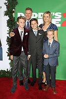 WESTWOOD, CA - NOVEMBER 5: Will Ferrell, Vivica Paulin, Magnus Paulin Ferrell, Mattias Paulin Ferrell and Axel Paulin Ferrell at the premiere of Daddy's Home 2 at the Regency Village Theater in Westwood, California on November 5, 2017. Credit: Faye Sadou/MediaPunch