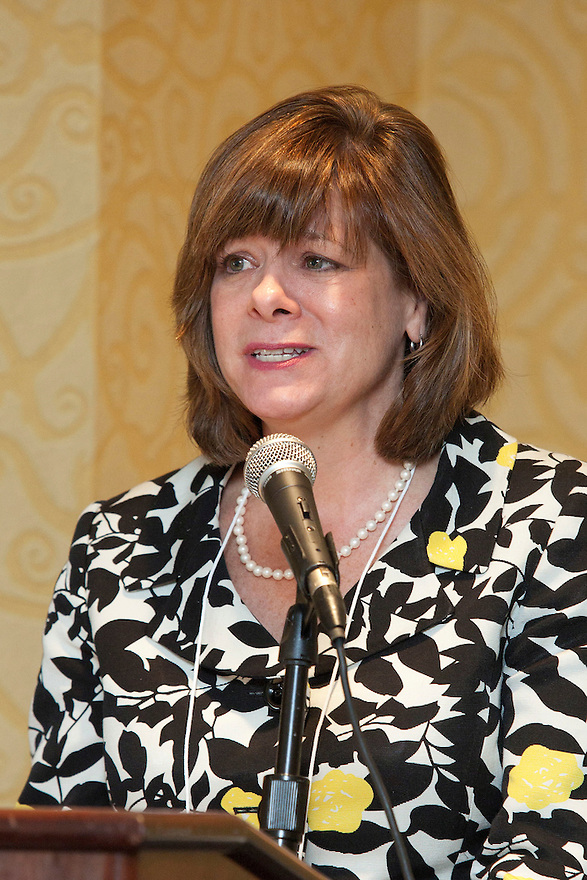 Sandy Markwood speaks at the Older Volunteers Enrich America Awards at the Double Tree Hotel in Washington, DC on Friday, June 17, 2011.