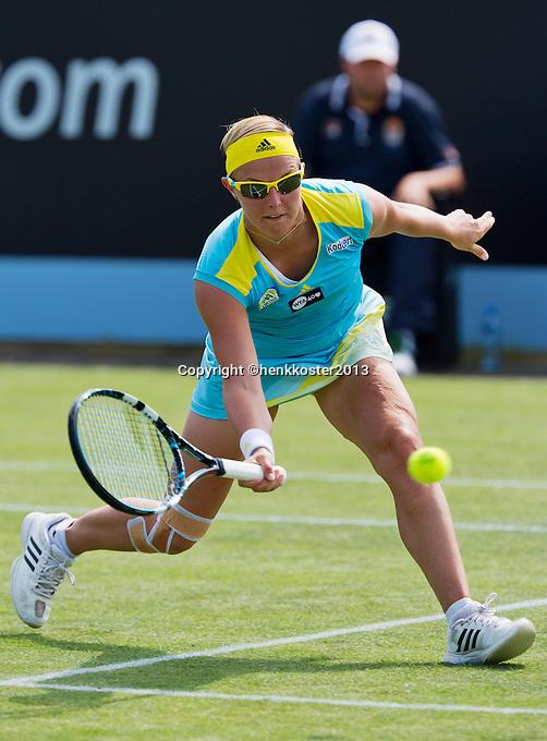 18-06-13, Netherlands, Rosmalen,  Autotron, Tennis, Topshelf Open 2013,   Kristen Flipkens<br /> Photo: Henk Koster