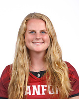 STANFORD, CA - August 16, 2019: Kaylie Mings on Field Hockey Photo Day.