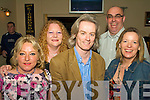 Enjoying the night out at the Back to Banna Night in aid of Bouleenshere N.S. held in The Banna Beach Hotel on Saturday night were l/r Elizabeth Holmes, Joanna Barrett, Terence Dineen, Gary & Graine Stack.......................................................................................................................................... ............