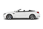 Car Driver side profile view of a 2016 BMW M6 Convertible - 2 Door Convertible Side View