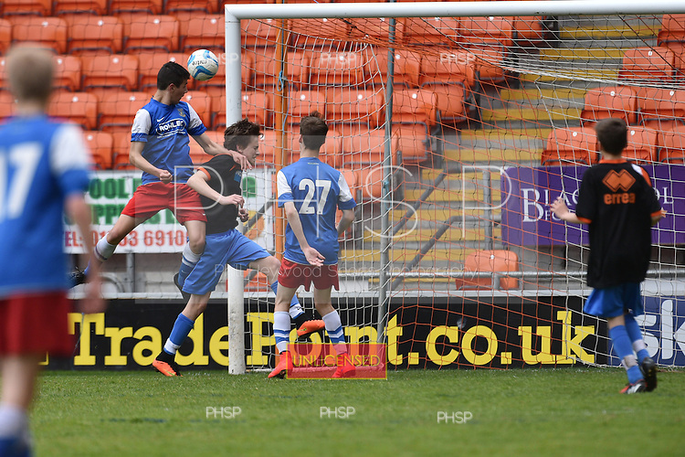10/05/2015 B&amp;DYFL Hogan Cup Final 2015 U-145 Blackpool Rangers v Kirkham JFC Blues<br /> &copy;  Phill Heywood