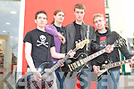 ROCK'N: Member's of ILLICIT giging at the KDYS Fall Festival in Tralee Town Square on Sunday l-r: Brian Hall, George Pardoe, Conor McElligott and Alan Foran..