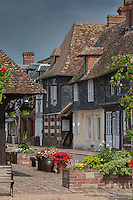 France, Calvados (14), Pays d' Auge, Beuvron-en-Auge, labellisé Les Plus Beaux Villages de France,   // France, Calvados, Pays d'Auge, Beuvron en Auge, labelled Les Plus Beaux Villages de France (The Most Beautiful Villages of France),