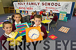 IT ALL ADDS UP: Children from Holy Family National School, Tralee are learning that it all adds up during Maths Week last week. Front l-r were: Jonathan Carey, Terezka Concova and Jeremiah Finnegan. Back l-r were: Gavin Slattery, Natalie Hennessy, Gillian Nolan, Dylan Day and Holly Moriarty..