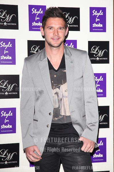 Matt Javis arriving for the Style for Stroke Party, 5 Cavendish Square, London. 02/10/2012 Picture by: Alexandra Glen / Featureflash