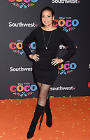 LOS ANGELES, CA - NOVEMBER 08: Actor Constance Marie arrives at the premiere of Disney Pixar's 'Coco' at El Capitan Theatre on November 8, 2017 in Los Angeles, California.<br /> CAP/ROT/TM<br /> &copy;TM/ROT/Capital Pictures