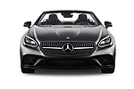 Car photography straight front view of a 2019 Mercedes Benz SLC Roadster SLC300 2 Door Convertible