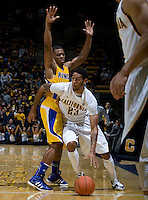 Allen Crabbe of California in action during the game against CSUB at Haas Pavilion in Berkeley, California on November 11th, 2012.  California defeated CSUB, 78-65.